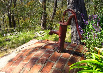Old water pump.