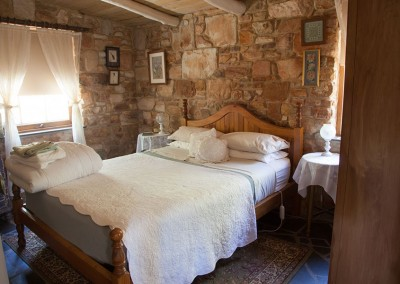 Trestrail Cottage bedroom.