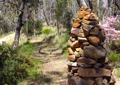 Stone sculpture.
