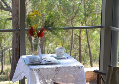 Enjoy a 'cuppa' on the deck.