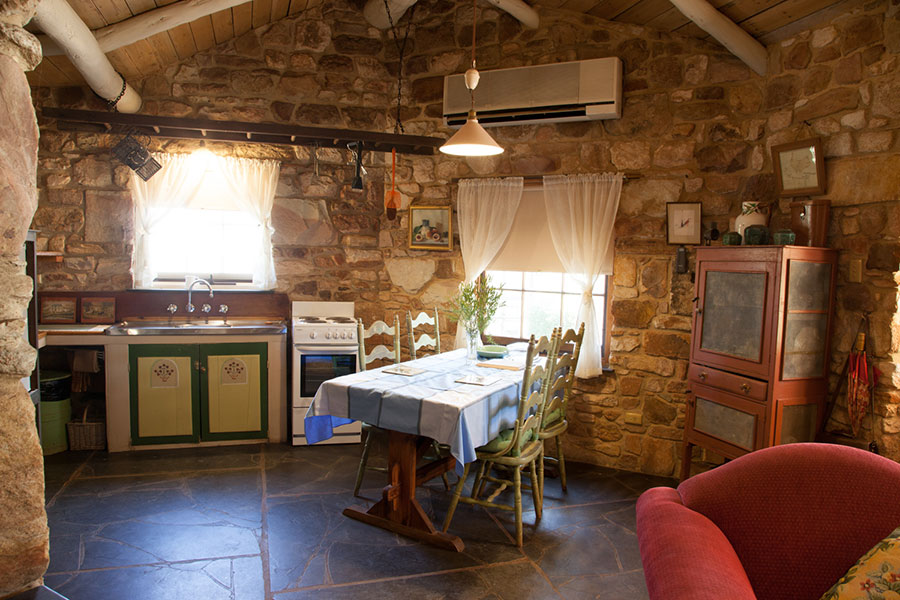 Bright cottage kitchen - Clare Valley bed and breakfast