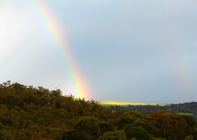 Rainbow view.